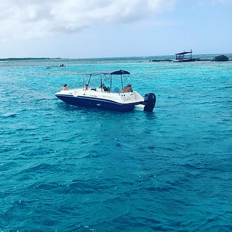 private snorkel trip aruba by boat