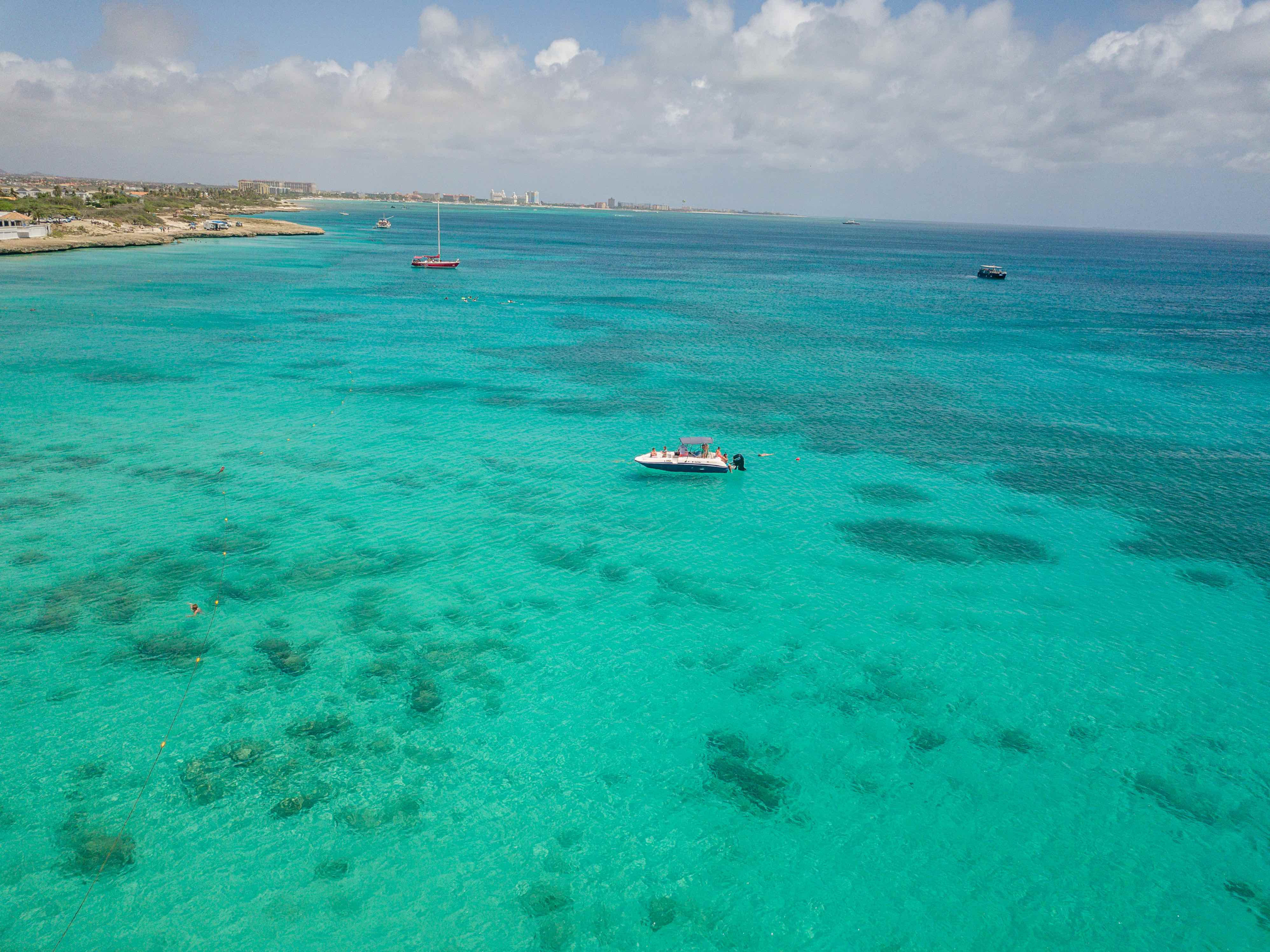 snorkel tour palm beach aruba